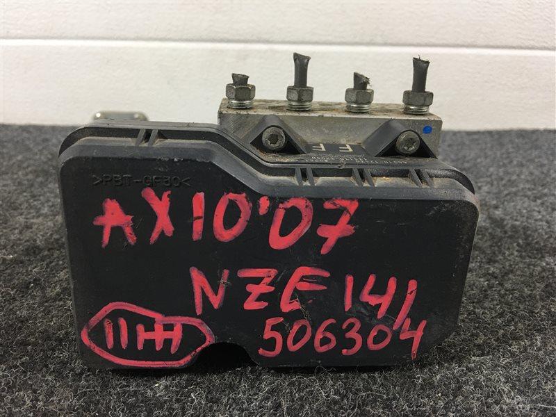 Блок abs Toyota Corolla Axio NZE141 1NZ 2007 506304 (б/у)