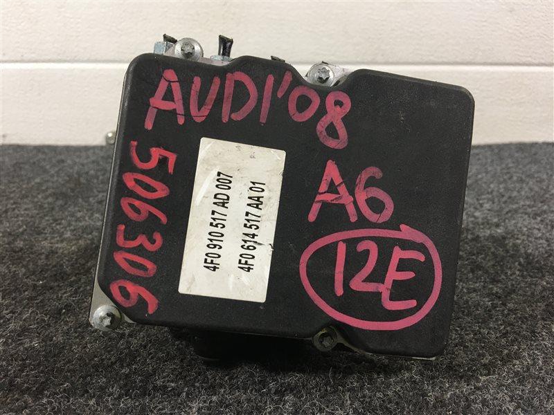 Блок abs Audi A6 4F2 BDX 2008 506306 (б/у)