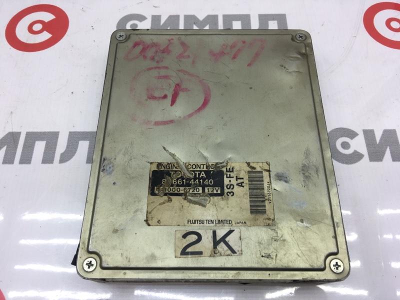 Блок управления двс Toyota Nadia SXN10 3S 2000 7 ящик. (б/у)