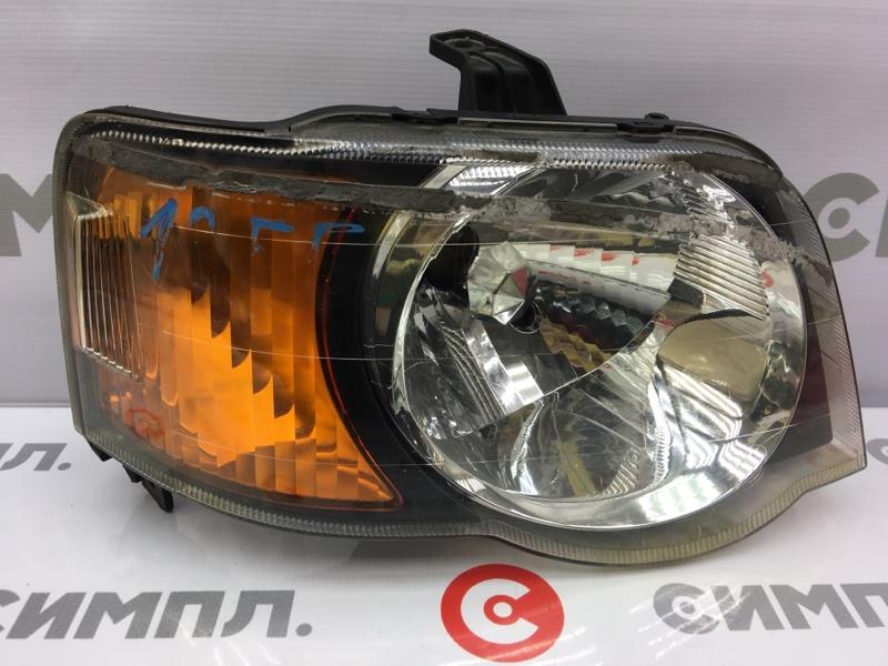 Фара Honda S-Mx RH1 передняя правая P0775 Сломано крепление (см. фото). (б/у)