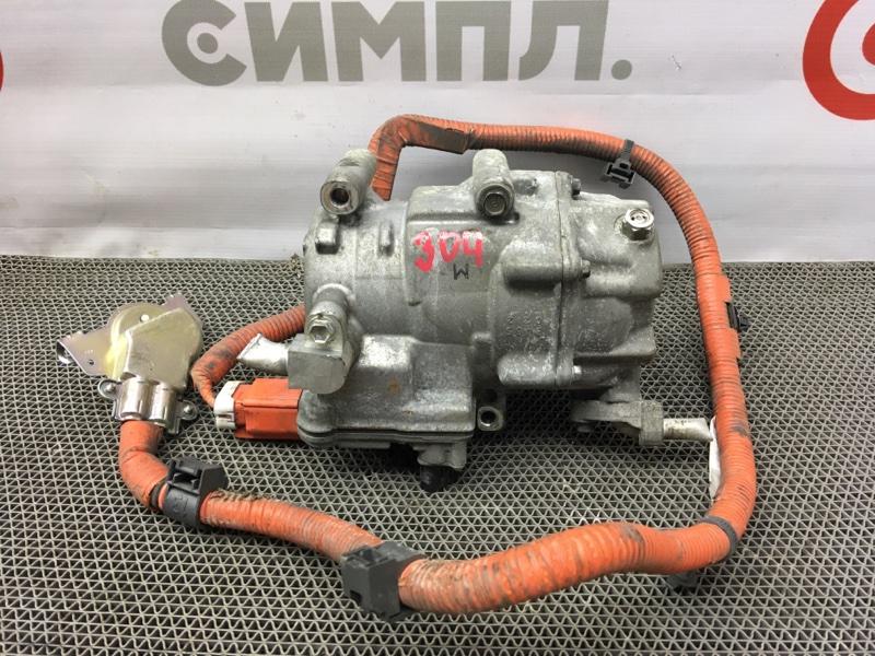 Компрессор кондиционера Toyota Aqua NHP10 1NZ-FXE 2012 042200-0512 (б/у)