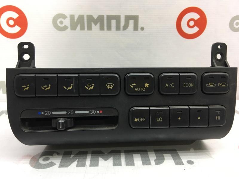 Блок управления климат-контролем Toyota Corona ST190 4S 1993 (б/у)