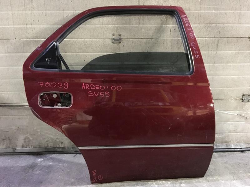 Дверь боковая Toyota Vista Ardeo SV55 2000 задняя правая 70039 (+20.05.20) 9В.[T] Цена указана за голую (б/у)