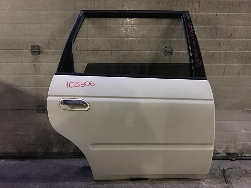 Дверь боковая Honda Odyssey RA6 задняя правая 105906 (+29.04.20) Белая. (б/у)
