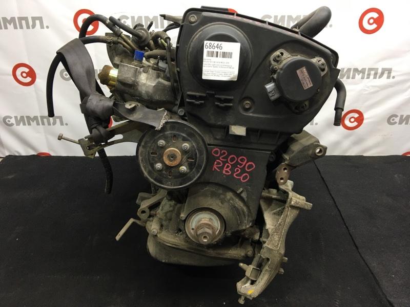 Двигатель Nissan Skyline HR34 RB20 1999 Голый (без навесного), комплектность как на фото. (б/у)