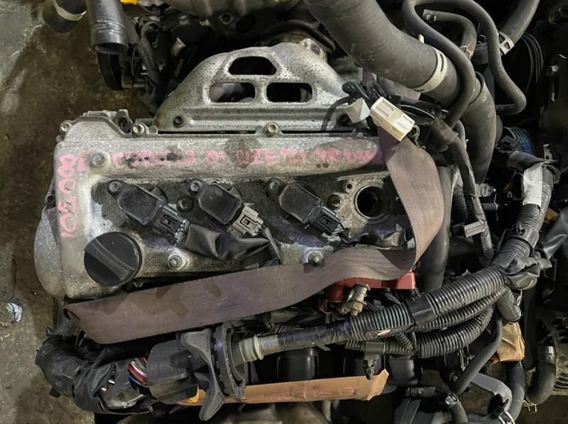 Компрессор кондиционера Toyota Corolla NZE121 1NZ 2001 (б/у)