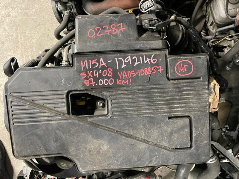 Компрессор кондиционера Suzuki Sx4 YA11S M15A 2008 (б/у)
