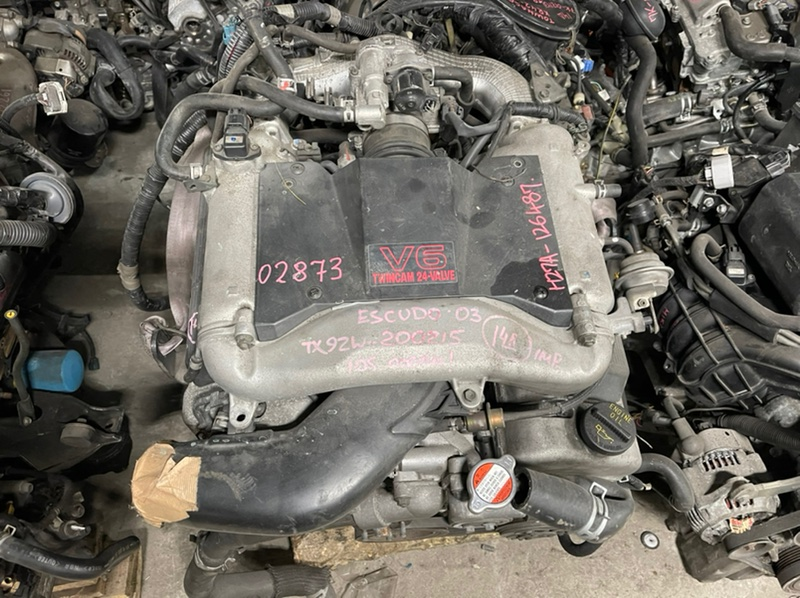 Патрубок радиатора Suzuki Grand Escudo TX92W H27A 2003 Нижний (б/у)