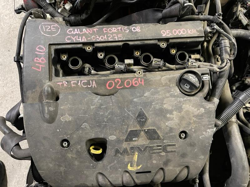 Двигатель Mitsubishi Galant Fortis CY4A 4B11 2008 Контрактный двигатель в отличном состоянии. (б/у)