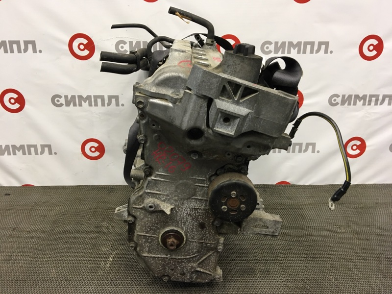 Двигатель Nissan Wingroad VZNY12 HR16 2009 Голый (без навесного), комплектность как на фото. (б/у)