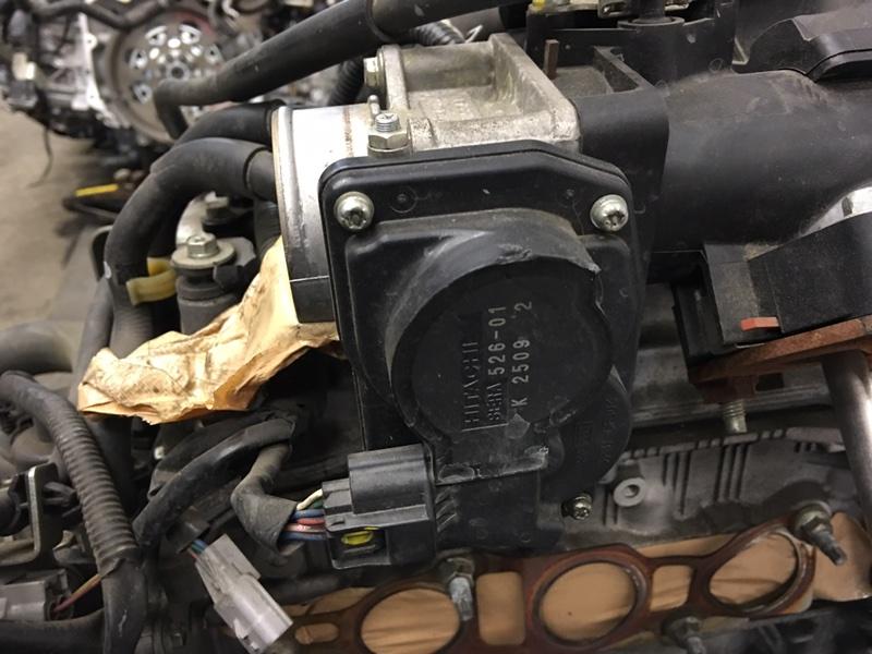 Заслонка дроссельная Nissan Note E12 HR12 2012 (б/у)