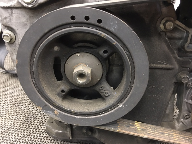 Шкив коленвала Nissan Note E12 HR12 2012 (б/у)