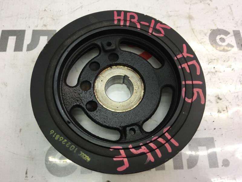 Шкив коленвала Nissan Juke YF15 HR15 2011 (б/у)