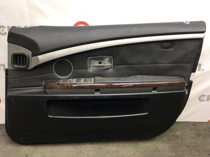 Обшивка двери Bmw 7-Series E65 N62B48B 2007 передняя правая Блок управления (б/у)