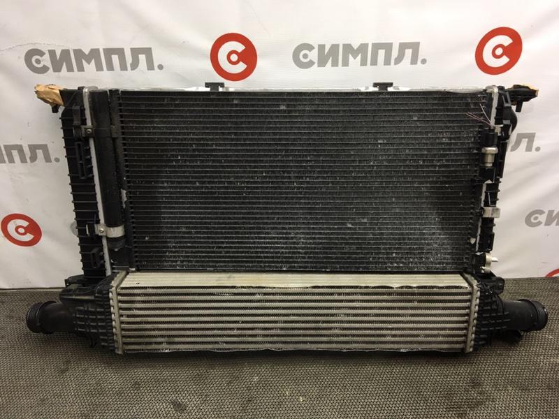 Радиатор охлаждения двигателя Audi A4 8K2 CDNC 2010 104320 Радиатор кондиционера, (б/у)