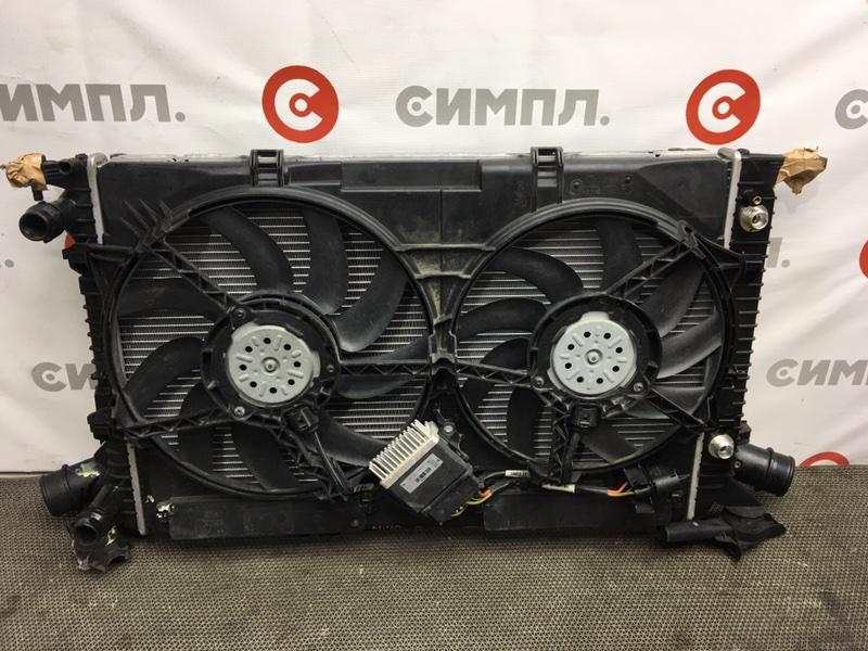 Диффузор Audi A4 8K2 CDNC 2010 104320 Радиаторы продаются отдельно. (б/у)