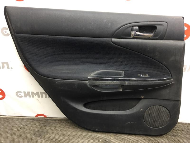 Обшивка двери Toyota Caldina ZZT241 1ZZ задняя левая (б/у)