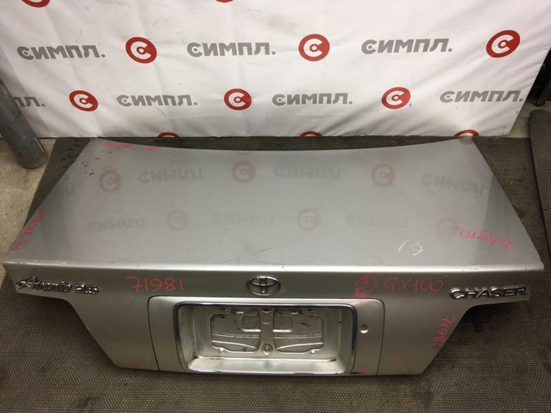 Крышка багажника Toyota Chaser GX100 71984 (+21.05.20) 11С.[Т] (б/у)