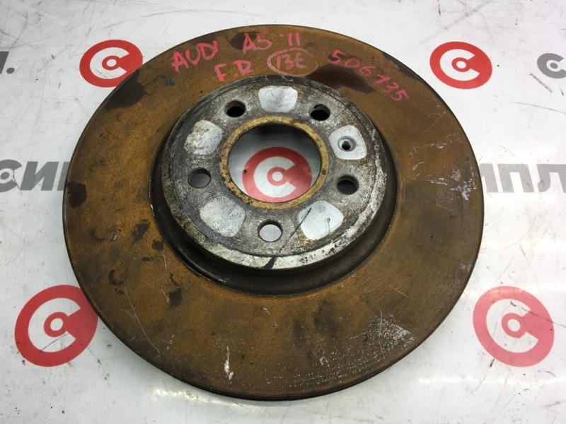 Диск тормозной Audi A5 8TA CDN 2011 передний правый 506135 (б/у)