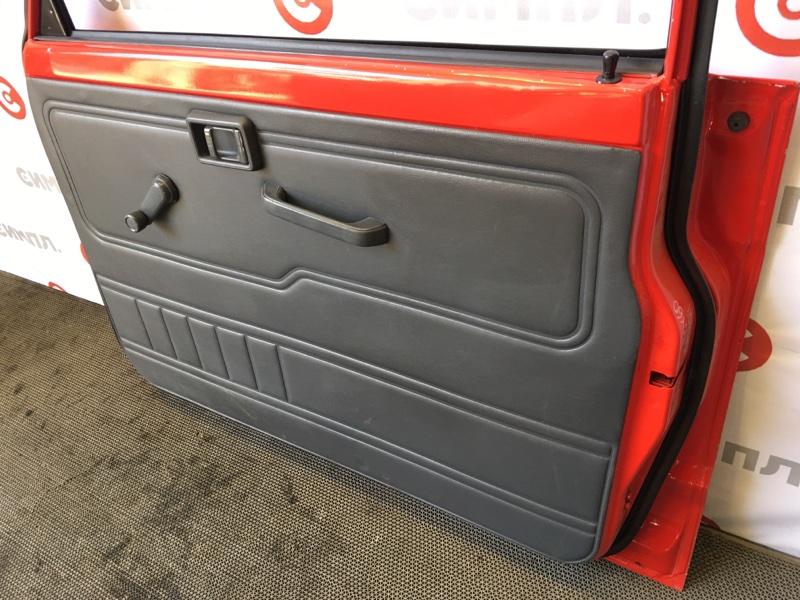 Обшивка двери Nissan Safari FGY60 TB42 1995 передняя правая 73156 (б/у)