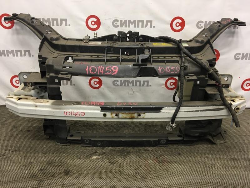 Рамка радиатора Mazda Demio DY3W ZJ 2006 101459 Усилитель продается отдельно. (б/у)