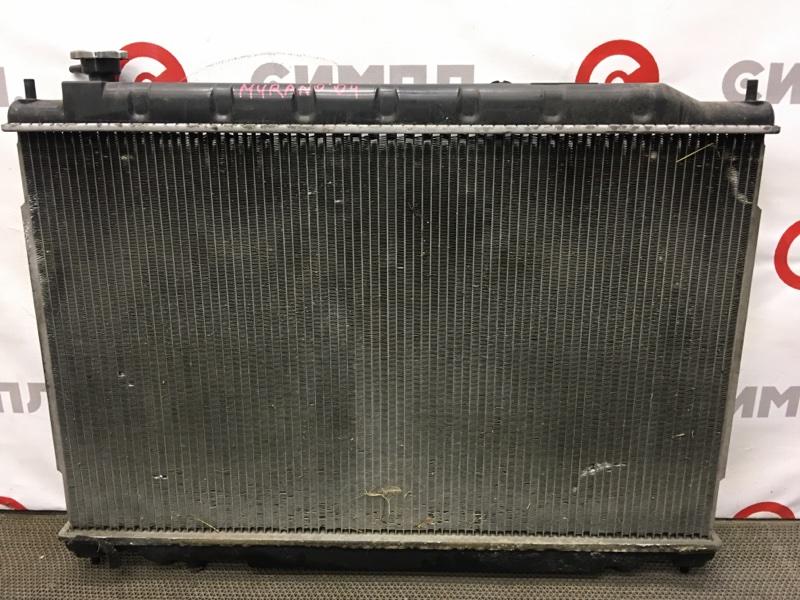 Радиатор охлаждения двигателя Nissan Murano PNZ50 VQ35 2004 101462 (б/у)