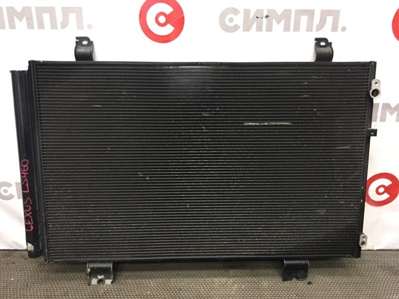 Радиатор кондиционера Lexus Ls460 USF40 1UR 2008 501613 Радиатор основной продается (б/у)
