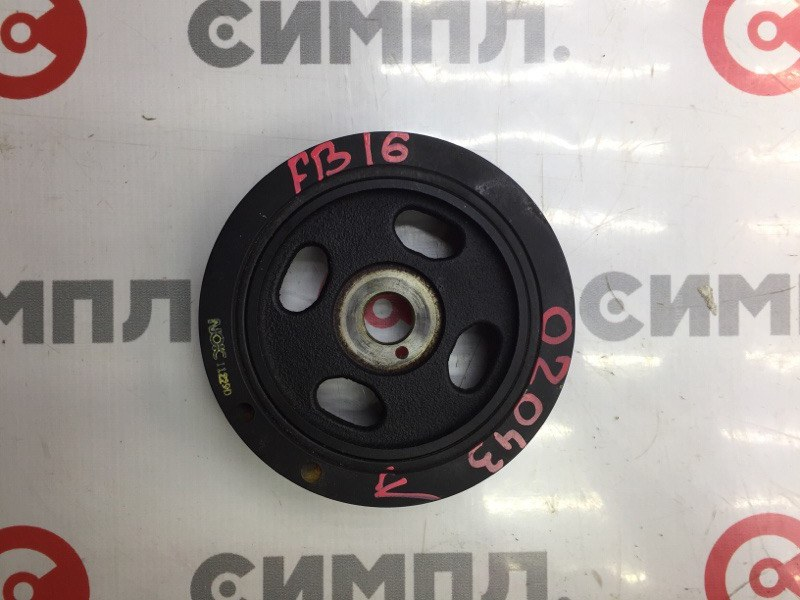 Шкив коленвала Subaru Impreza GJ2 FB16 2012 (б/у)