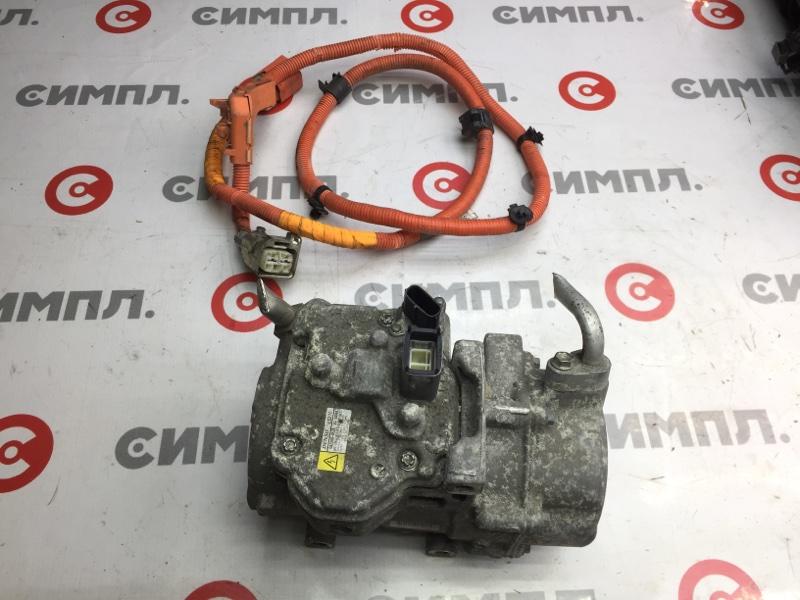 Компрессор кондиционера Toyota Camry AVV50 2AR-FXE 2013 (б/у)
