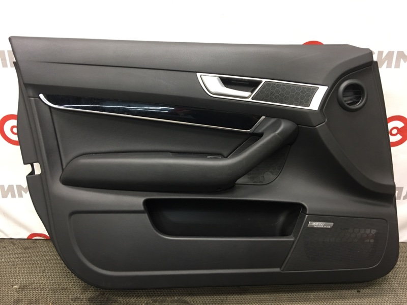 Обшивка двери Audi A6 4F2 BDX 2008 передняя левая (б/у)