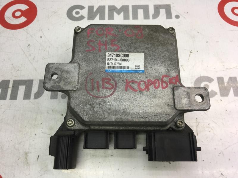 Блок управления рулевой рейкой Subaru Forester SH5 EJ204 2010 (б/у)