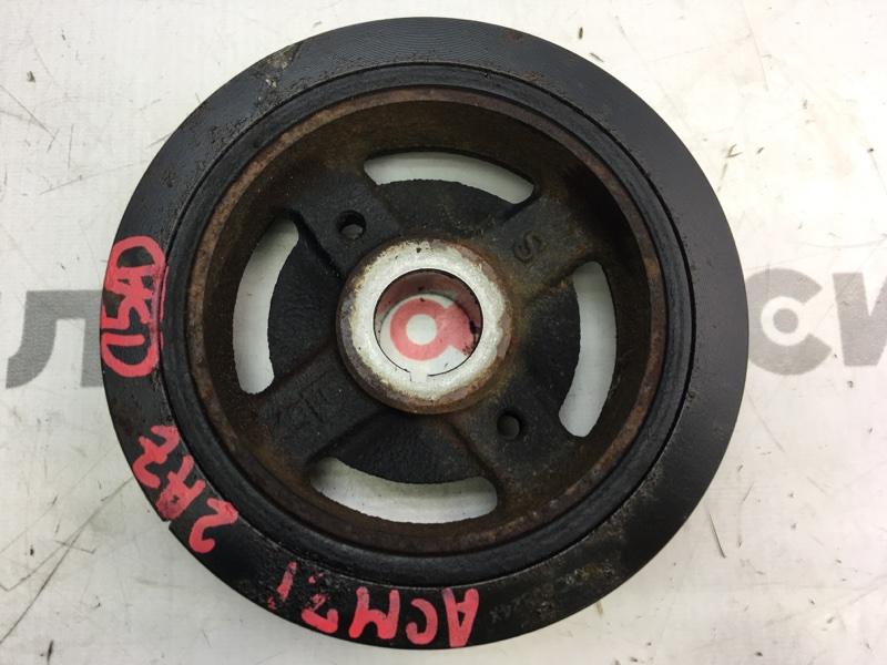 Шкив коленвала Toyota Ipsum ACM21 2AZ 2006 (б/у)