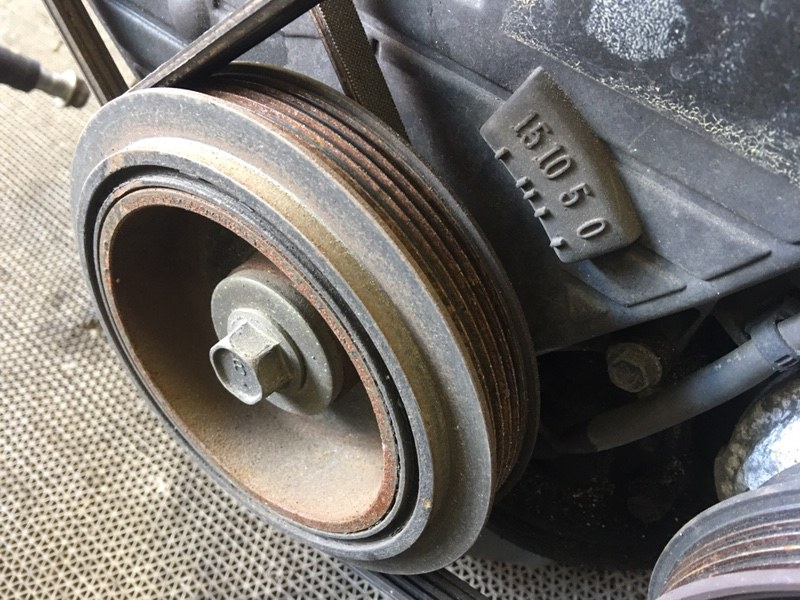 Шкив коленвала Toyota Mark Ii Wagon Qualis SXV25 5S 1999 (б/у)