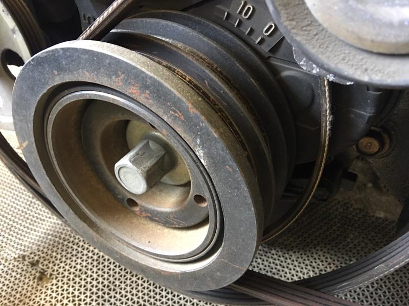Шкив коленвала Toyota Chaser GX100 1G 2001 (б/у)