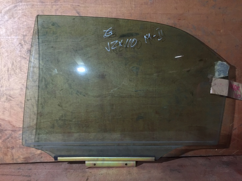 Стекло боковое Toyota Mark Ii GX110 1G 2002 заднее левое (б/у)
