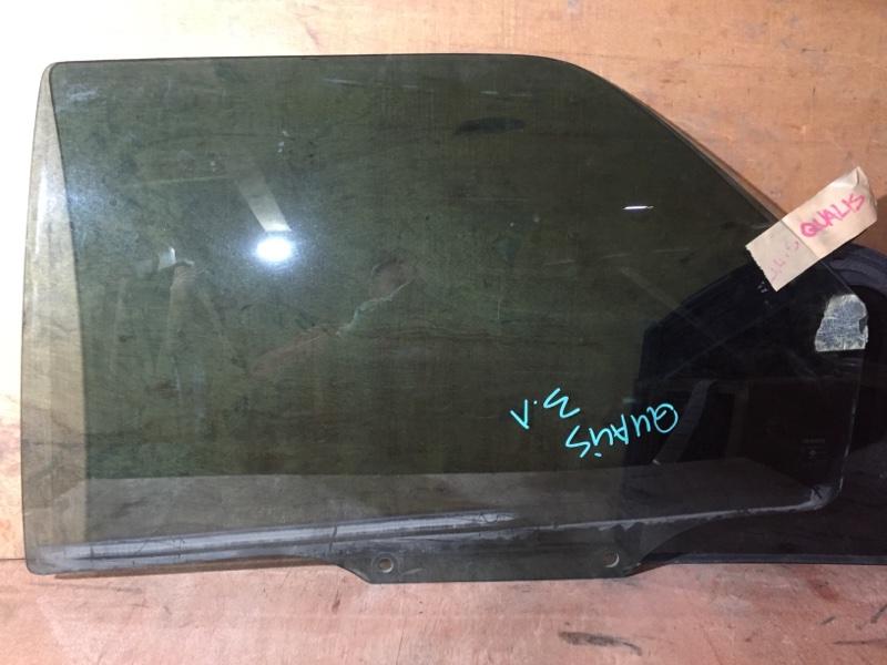 Стекло боковое Toyota Mark Ii Wagon Qualis MCV21 2MZ 1999 заднее левое (б/у)