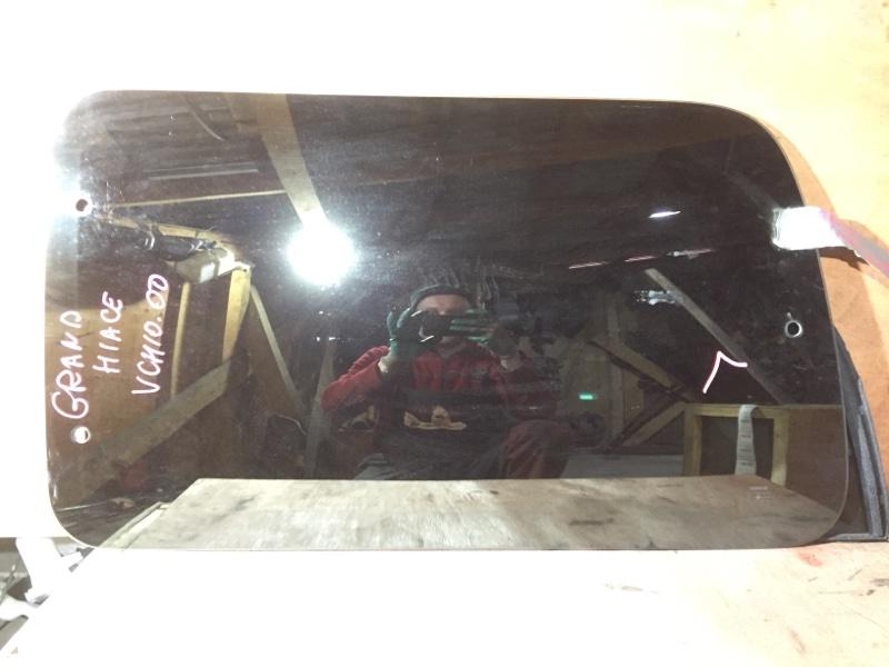Стекло боковое Toyota Grand Hiace VCH10 1KZ 1999 заднее левое (б/у)