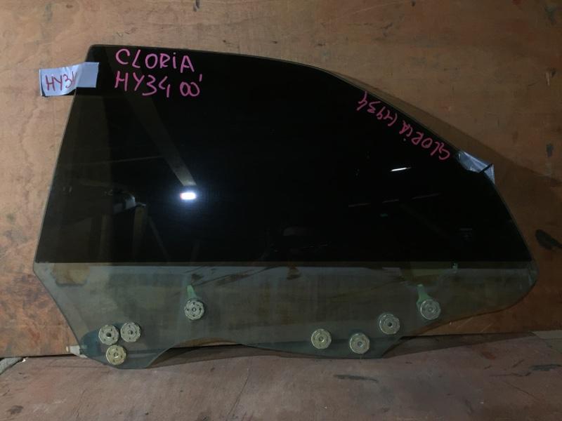Стекло боковое Nissan Gloria HY34 VQ25 2002 заднее левое (б/у)