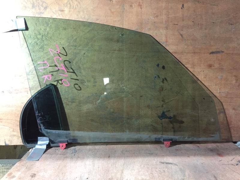 Стекло боковое Toyota Opa ZCT10 1ZZ 2004 переднее правое (б/у)