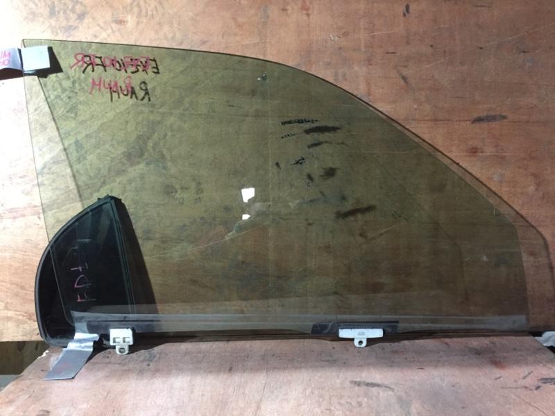 Стекло боковое Toyota Raum EXZ10 5E 1999 переднее правое (б/у)