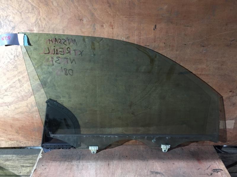 Стекло боковое Nissan X-Trail TNT31 MR20DE 2009 переднее правое (б/у)