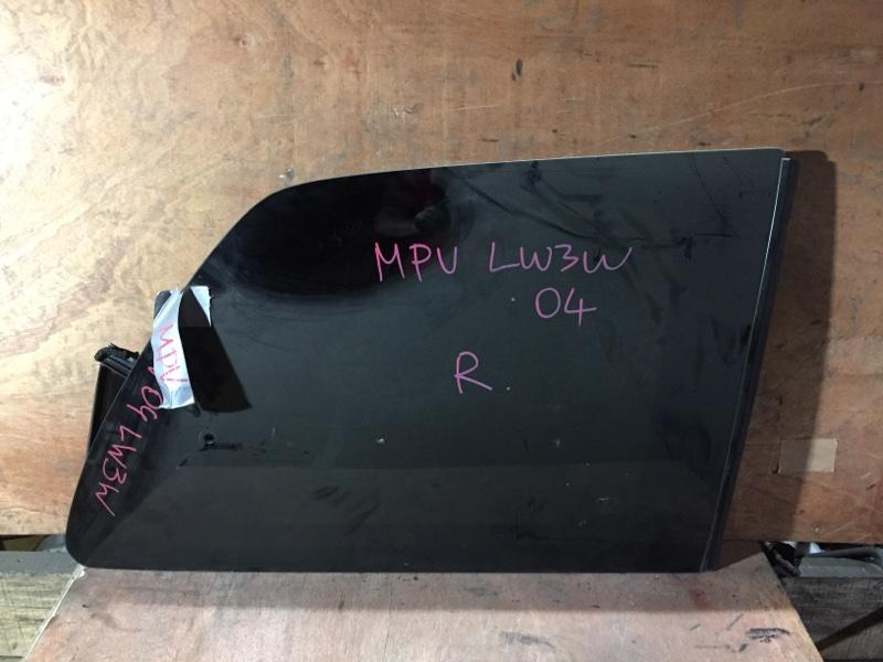 Стекло боковое Mazda Mpv LW3W L3 2004 заднее правое (б/у)
