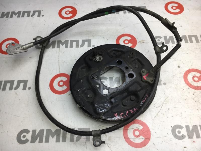 Тросик ручного тормоза Toyota Passo KGC30 1KR 2011 задний левый Порвана оплетка, дефект (см. (б/у)