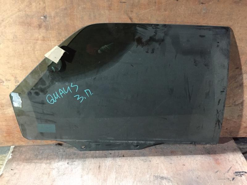 Стекло боковое Toyota Mark Ii Wagon Qualis MCV21 2MZ 1999 заднее правое (б/у)