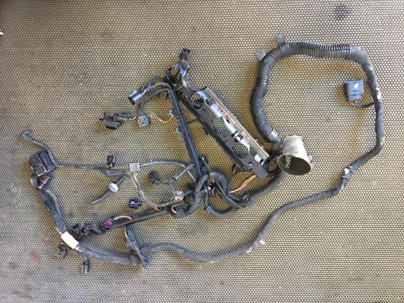 Проводка двс Volkswagen Jetta 1K2 BLG 2008 Сломаны фишки (см. фото). (б/у)