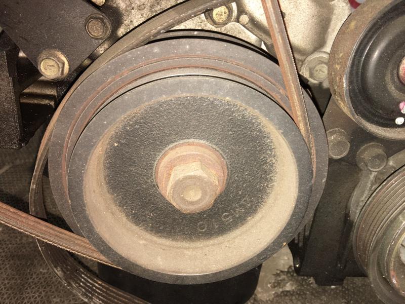 Шкив коленвала Nissan Wingroad WFY11 QG15 2001 (б/у)
