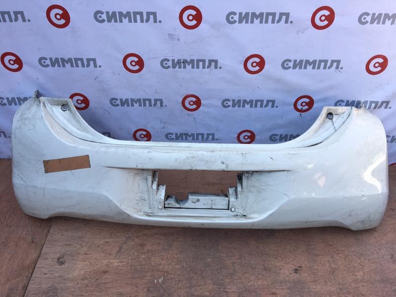 Бампер Toyota Passo KGC30 1KR 2010 задний 74224 (б/у)