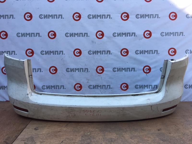 Бампер Toyota Corolla Spacio NZE121 1NZ 2000 задний (б/у)