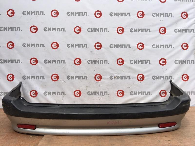 Бампер Toyota Sprinter Carib AE114 4A 2000 задний 106615 (б/у)