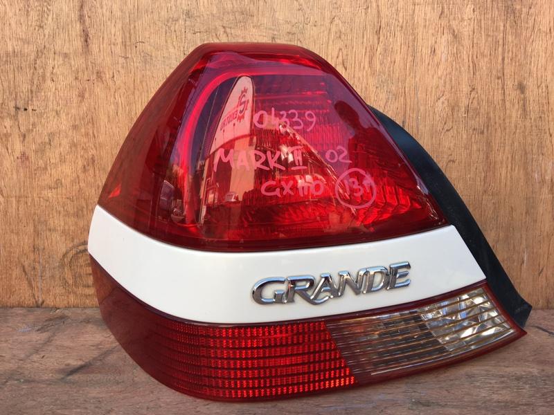 Задний фонарь Toyota Mark Ii GX110 1G 2002 задний левый 22-305, 104339 (б/у)